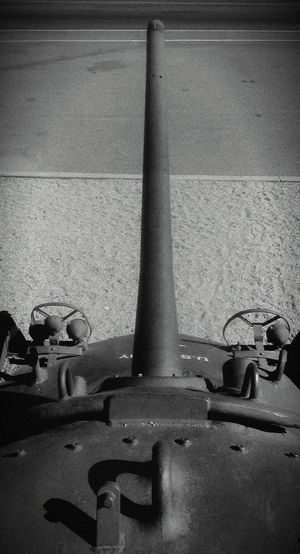 Dramatic Angles - Panzer. No People Day Weathered Gun Army Tank Birds Eye View Flying High