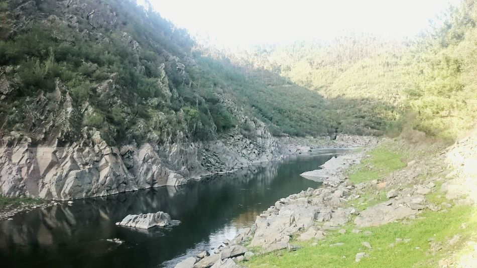 Nature Water Beauty In Nature Landscape No People Green Color Mountain River Scenics Castelo Branco Portugal Beauty In Nature