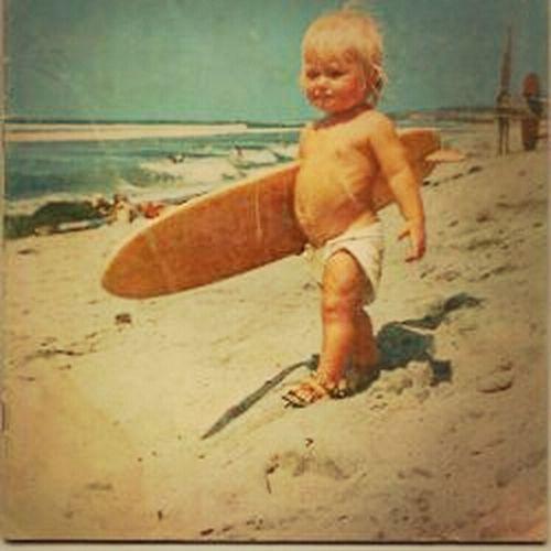 Sea Beach Surfer Inlove Shaka HangLoose Beautykid  Surferboy