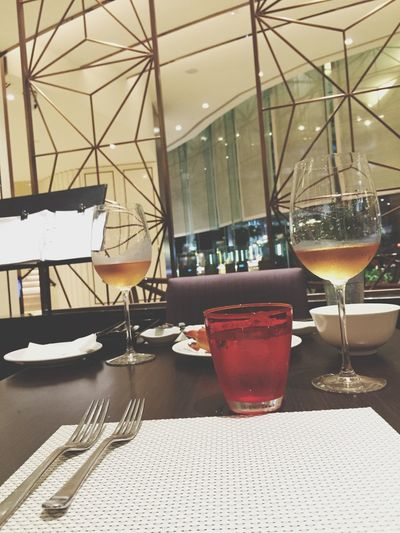 Dinner with him