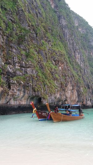 Taxi Boat in Maya Bay . No Filter Thailand Landscape_Collection