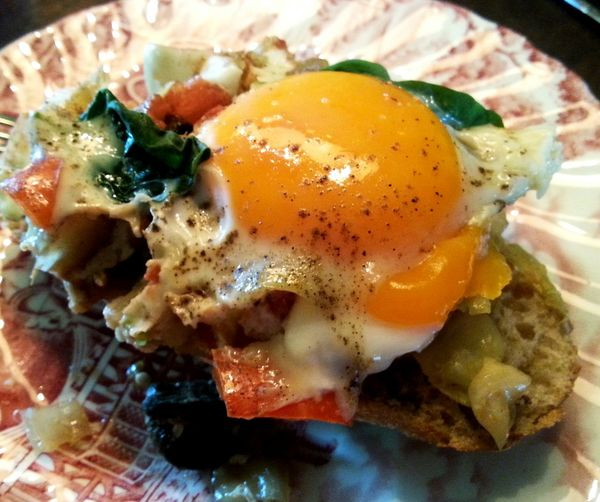 Egg Yolk Food