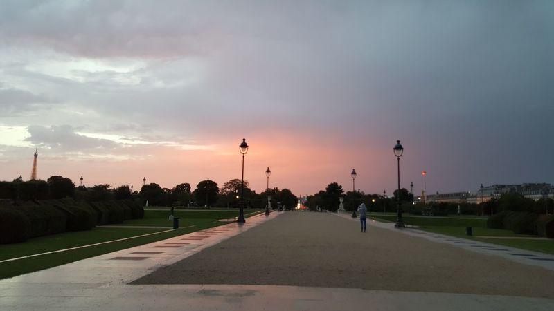 Landscape Sky Outdoors Tuileries Garden