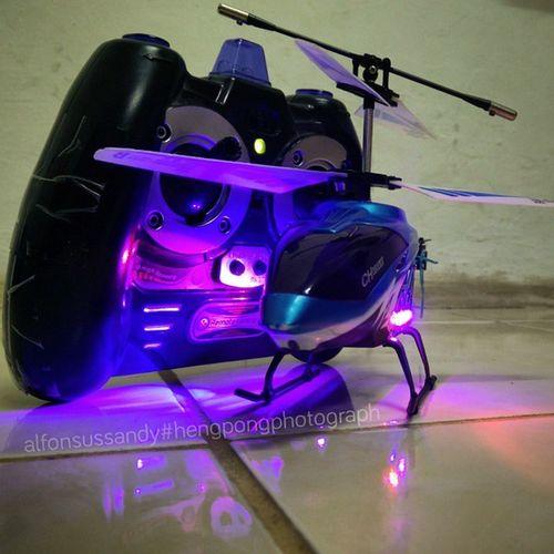 Maenan baru 😝.... Hengpongphotograph Oneplusonecamera Helikopter Aeromodeling Misticlight Mistique Mistiquephotography