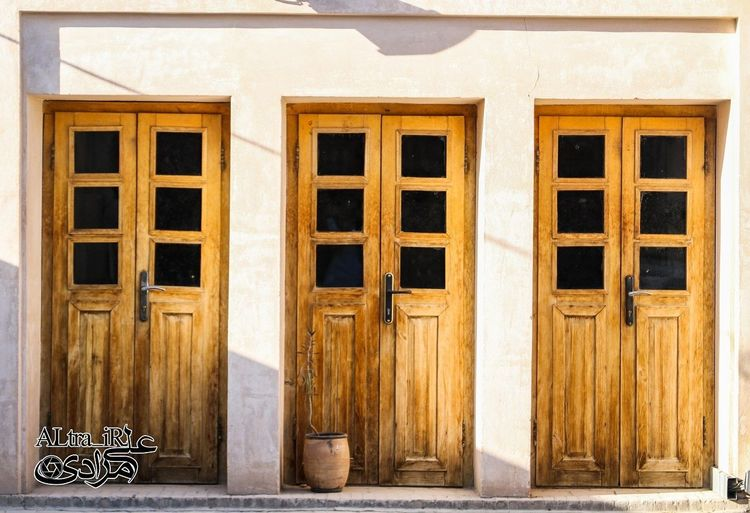 Door Esfahan Esfahanziba Photography Outdoors No People Architecture Building Exterior Façade Door Built Structure Window Day