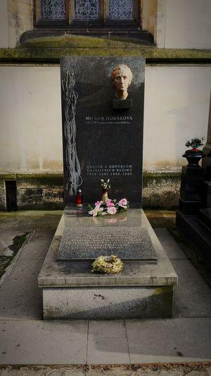 Grave Milada Horakova