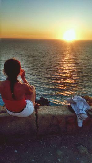 Perfect sunset spot :)) Greece Lefkada Enjoying Life Starting A Trip