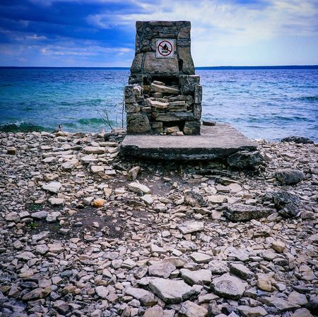 Game of Stones anyone? Shot using my first film camera Olympus XA on Fujifilm Velvia Landscape Filmisnotdead 35mm Edge Of The World Flowerpotisland Brucepeninsula