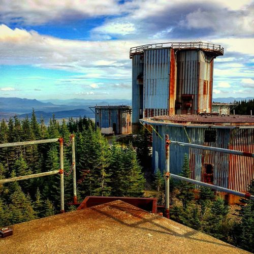 Lyndon Radar Base. Easthaven Vermont Vermontbyvermonters Coldwar Relic Abandoned