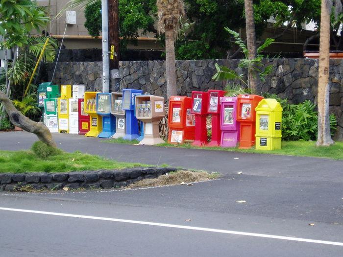 Color Bunt Colourful Colours Zeitung Zeitungsbox