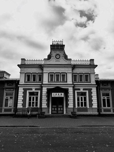 Architecture Train Station Estonia Baltics2k16
