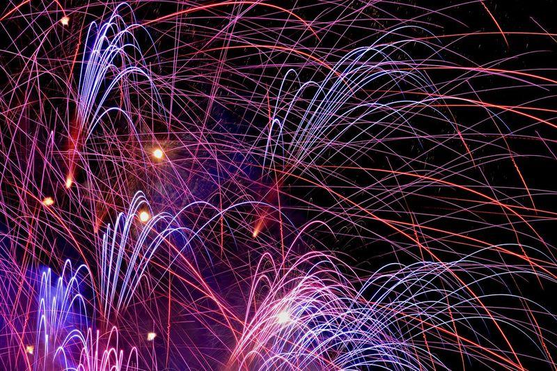 LSD EyeEm Best Shots Long Exposure Fireworks The Minimals (less Edit Juxt Photography)