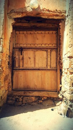 Morocco Architecture Amazigh Tafraout Idaougnidif Warm Colors Traditional Architecture Traditional Door Wood Stone