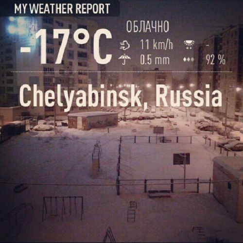 Weather Instaweather Instaweatherpro Androidonly androidnesia instagood Chelyabinsk Russia