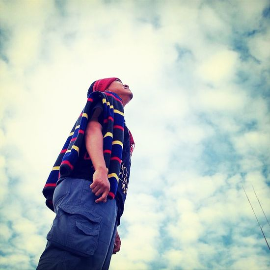 only skies above me . . . Selfportrait Sky Eye4photography  PhonePhotography
