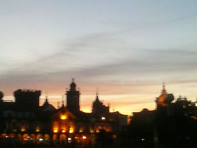 Avenida Central, Panorãmica ao Por do Sol A Minha Cidade Sunset Hanging Out