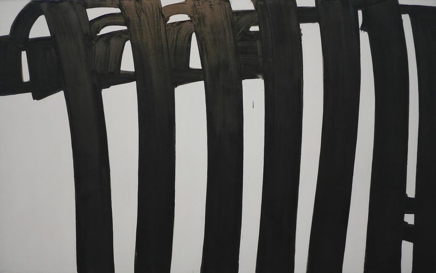 Repetition Creativity Pierre Soulages Museum Soulages Musee Soulages Rodez Art Museum Artist Rodez Aveyron Soulages Museum Expo Art, Drawing, Creativity Art Modern Art Painted Image Painting Black Paintings Blackandwhite Black