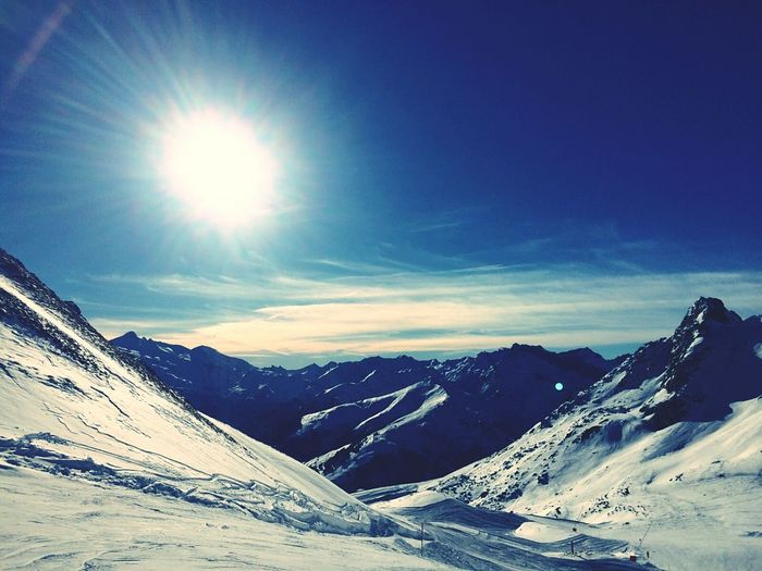 Zillertal Mountain Snow Winter Cold Temperature Nature Beauty In Nature Outdoors Eye4photography  Schnee Nature Beauty In Nature EyeEm Nature Lover Snow ❄ Winter Wonderland Nature Photography Winter Ice Eym Mayrhofen