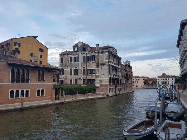 Architecture Building Exterior Built Structure Canales Day Mar Nu Outdoors Ria Rio Sky Venecia Venezia