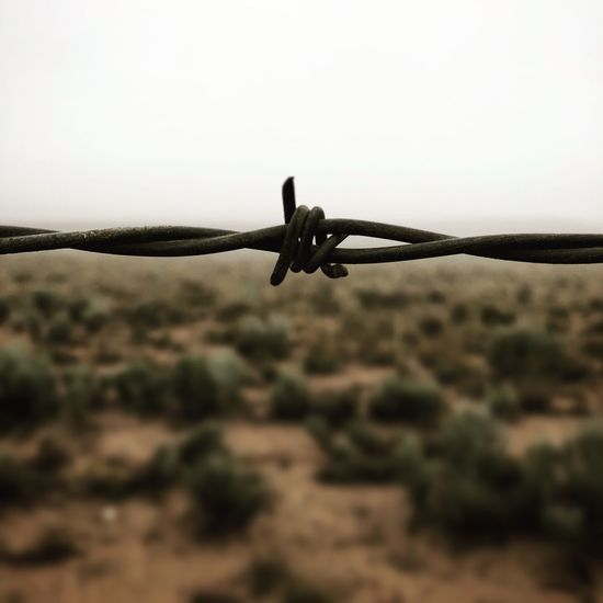 New Mexico Taos Barbed Wire Roadtrip Lost In The Landscape