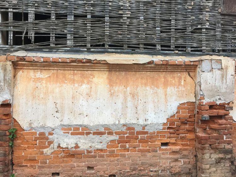 Old brick Chiangkhan Loei,thailand