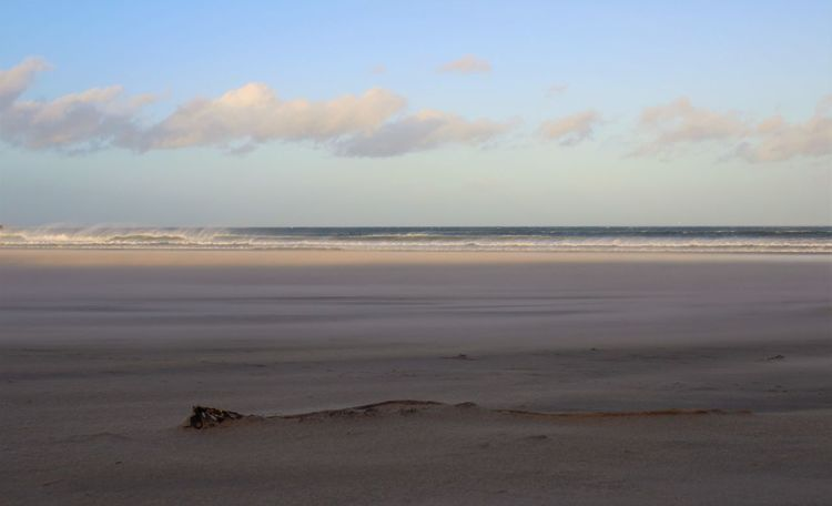 Beach Beauty In Nature Buried Buried In Sand Cloud - Sky Day Horizon Over Water Nature No People Outdoors Sand Sandend Beach Sandstorm Scenics Scotland Sea Sky Sunset Tranquility Travel Destinations