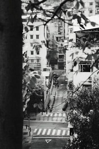 B&w Street Photography Macau