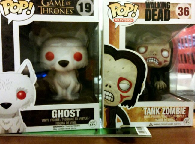 Two new for my Collection ^^ POP! TWD Game Of Thrones