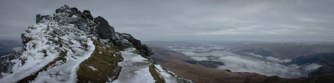 Ben Lomond near the top