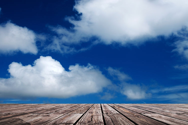 Sky Cloud - Sky Wood - Material Nature Blue Day No People Outdoors Beauty In Nature Built Structure Low Angle View Diminishing Perspective Architecture Wood Scenics - Nature Non-urban Scene Roof Environment Tranquility Direction