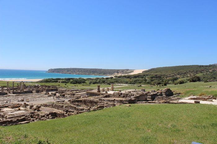 Ancient Ruins Baelo Claudia Bolonia Dune Bolonia Spain Duna De Bolonia Landscape Paisaje Ruinas Romanas Tarifa Spain