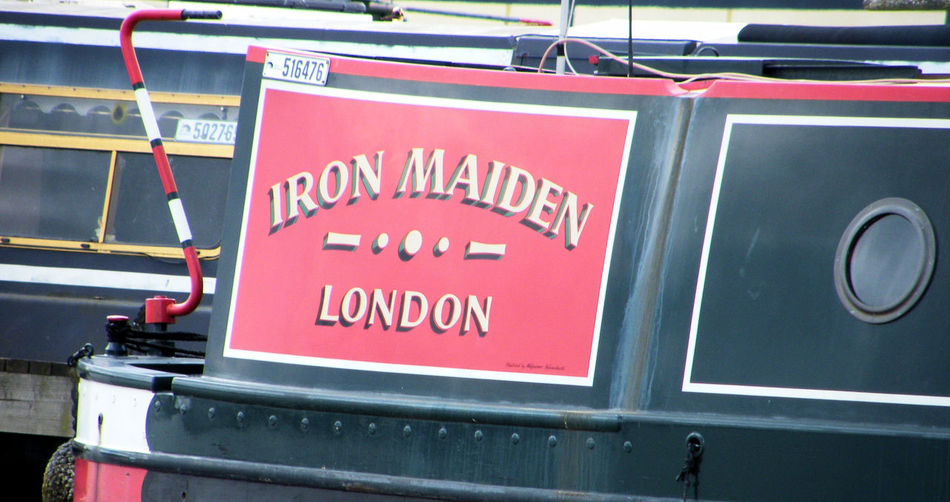 Barge Canal Art Canal Boat Iron Maiden Life On The Canals Narrow Boat Red Working Boats Canal Working Boat British Waterways Canals And River Trust