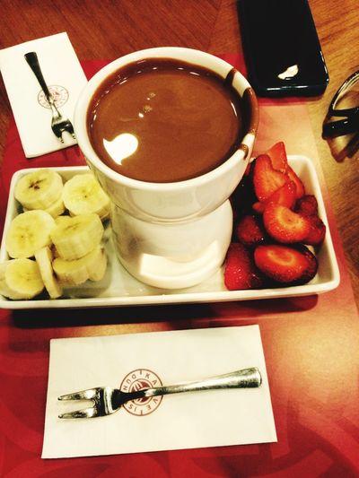 Fondu Food Love Enjoying Life