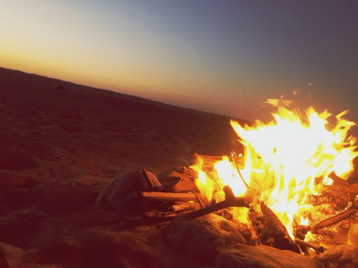 Camping and fire! Camping Bonfire GoodTimes Onceinalifetime Desert Holiday Relax Happytime Outdoors Love