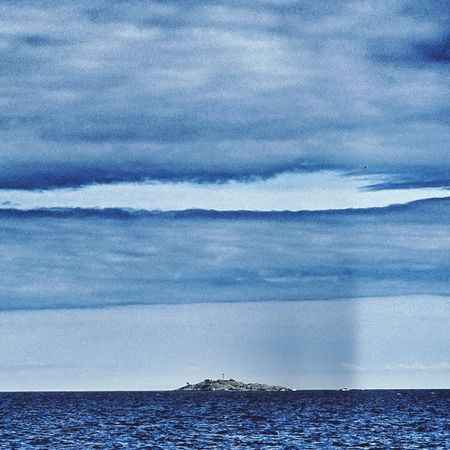 Cloud - Sky Sea Water Beauty In Nature Tranquility Horizon Over Water Sky Blue Outdoors No People Dramatic Sky Clouds Hole In The Sky Island