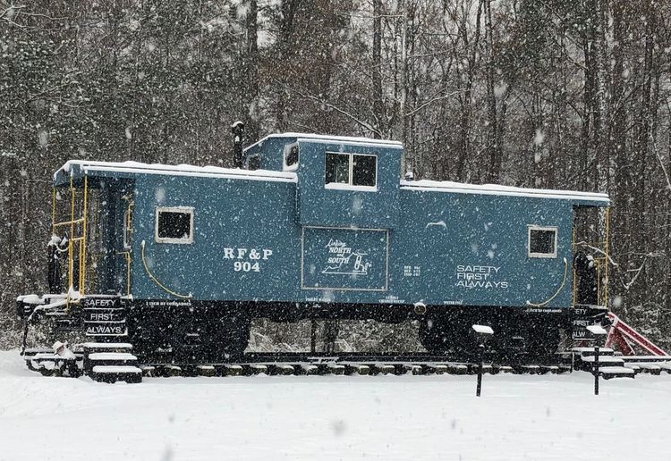 Caboose in the