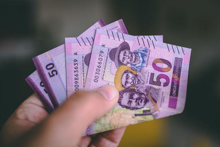 Bolivian money