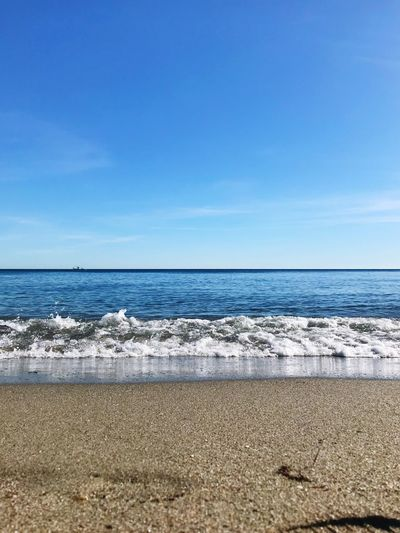 Beach landscape Tranquil Scene Beauty In Nature Horizon Over Water Sand Sky Day Outdoors No People Wave