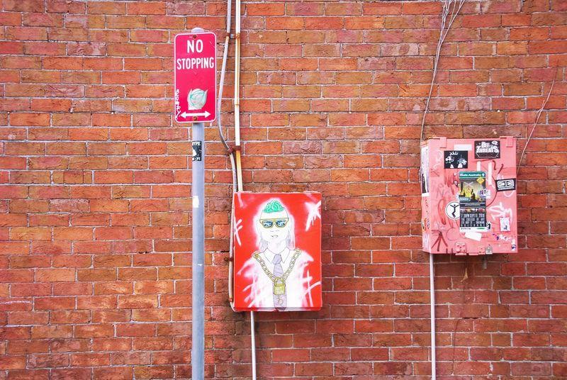 Australia & Travel Phantasy City SignSignEverywhereASign Brick Wall No Parking Street Art/Graffiti StreetArtEverywhere Streetart Color Street Culture Creative World Streetart Streetphoto_color My Eyes My Australia Street Photography Urban Exploration Fine Art Urban Lifestyle Art Institut Für Krimskrams Firewalls Around The World Street Style From Around The World Fine Art Photography Typo Around The World