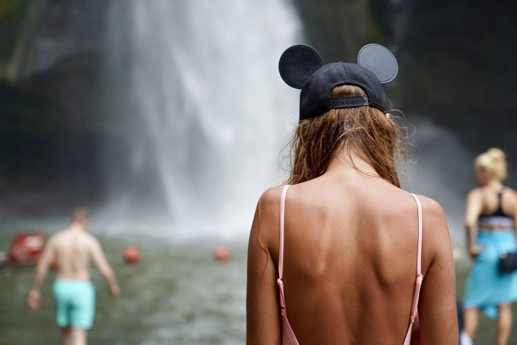 Mickey Adult Clothing Day Focus On Foreground Hair Hairstyle Hat Incidental People Leisure Activity Lifestyles Mini Nature Outdoors People Real People Rear View Shirtless Waist Up Water Waterfall Women The Great Outdoors - 2018 EyeEm Awards The Traveler - 2018 EyeEm Awards The Portraitist - 2018 EyeEm Awards The Fashion Photographer - 2018 EyeEm Awards The Street Photographer - 2018 EyeEm Awards #NotYourCliche Love Letter