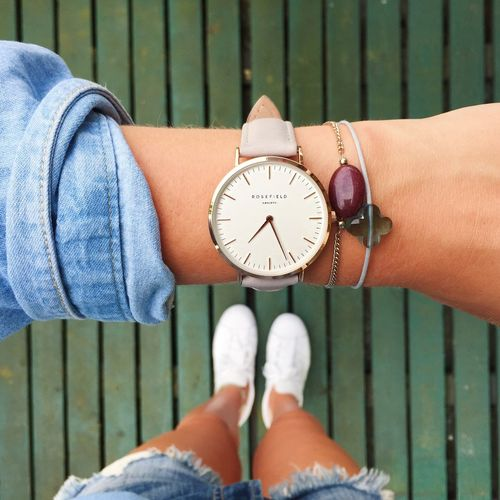 Life's better with Rosefield watches.