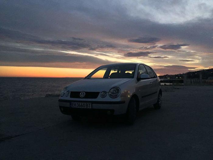 <3 Vw Polo <3 Car Travel Sky Sea