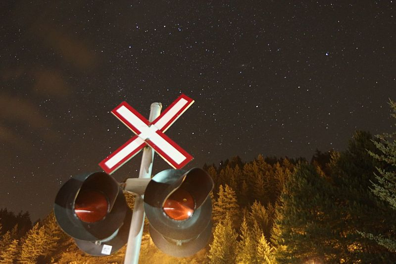 Stars Railroad Porteaucove Sky Long Exposure Creative Light And Shadow Beautiful Nofilter Vancouver
