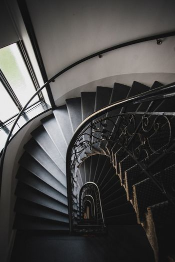Architecture Built Structure Railing Staircase Steps And Staircases Spiral Spiral Staircase Indoors  Travel Metal Building The Traveler - 2018 EyeEm Awards The Creative - 2018 EyeEm Awards The Architect - 2018 EyeEm Awards EyeEmNewHere