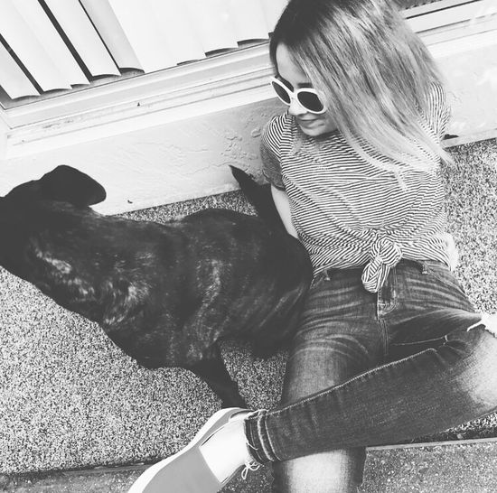 With My Dog ❤️