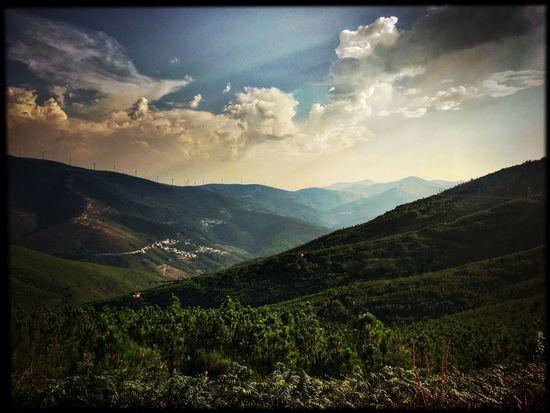 Serradaestrela Portugal HDR Summer Mountains Sunset Hot Day