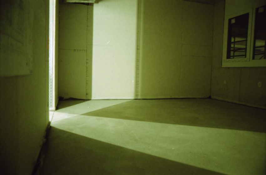 Analogue Photography Architecture Built Structure Construction Site Empty Indoors  Light And Shadow No People