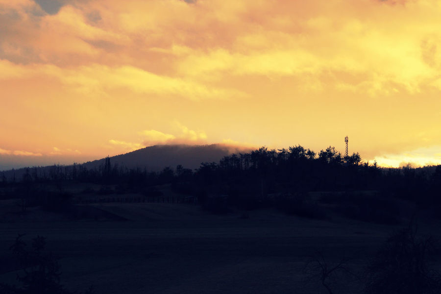 Sunset Home Sweet Home