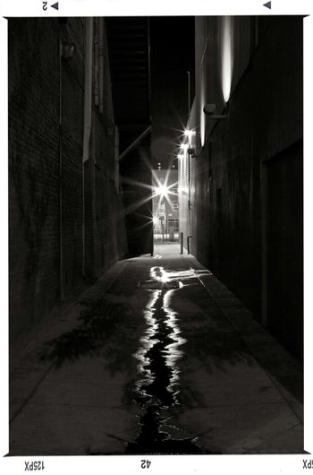 Here's to the Night Black And White Night Lights Alley Backstreets & Alleyways Nightcall