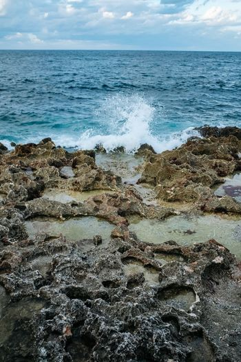 Cuba Cuba Sea Water Nature Beauty In Nature Horizon Over Water Rock - Object Tranquility Scenics Tranquil Scene No People Beach Sky Outdoors Day Wave